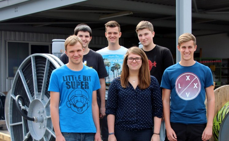 Six apprentices started their professional life at H&K