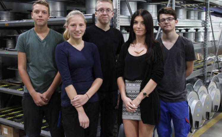 New apprentices started at Hartmann & König AG